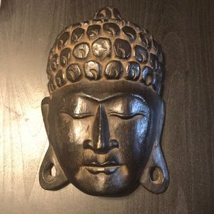 Wooded Buddha Mask